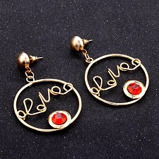Buy Women love letter earring