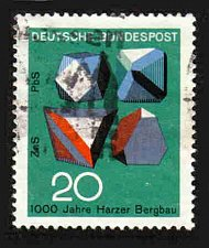 Buy German Used Scott #979 Catalog Value $.25