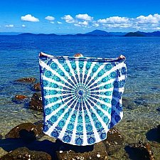 Buy beach towel scarf bed sheet yoga mat tapestry table cover