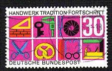 Buy German Used Scott #981 Catalog Value $.35