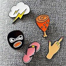 Buy 5pcs cute sweater brooch jewelry pins