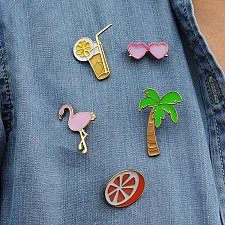Buy 5pcs cute sweater brooch jewelry