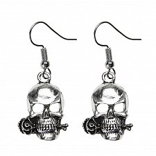 Buy Women funny skull earring