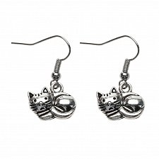 Buy Women funny cat earring