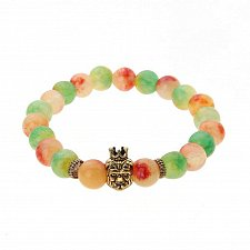 Buy fashion men natural beads Buddha bracelet
