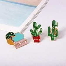 Buy 3pcs funny women brooch jewelry pins