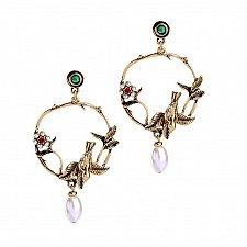Buy Women fashion birds earring