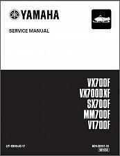 Buy Yamaha Mountain Max / SX Viper / Venture / VMax 700 Snowmobile Service Manual CD