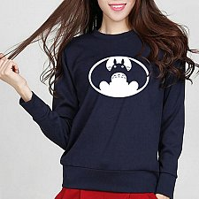 Buy women cute printed top hoodies pullover