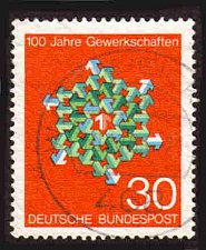 Buy German Used Scott #991 Catalog Value $.30