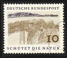 Buy German Used Scott #1000 Catalog Value $.25
