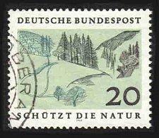 Buy German Used Scott #1001 Catalog Value $.35