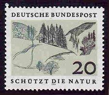 Buy German MNH Scott #1001 Catalog Value $.60