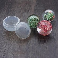 Buy 2PCS DIY jewelry silicone mold craft ball