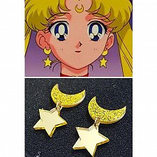 Buy Women girl moon costly star earring
