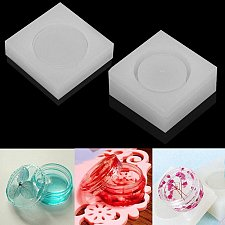 Buy DIY jewelry 2pcs silicone mold peacock