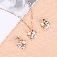 Buy jeweley set necklace and earrings