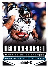 Buy Maurice Jones-drew #281 - Jaguars 2013 Score Football Trading Card