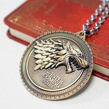 Buy men women vintage wolf necklace