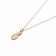 Buy fashion women gold plated necklace