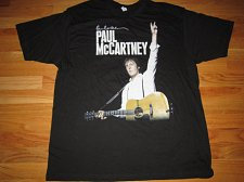 Buy paul mccartney on the run 2011 LARGE tour tee