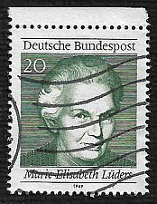 Buy German Used Scott #1007b Catalog Value $.25