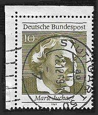 Buy German Used Scott #1007a Catalog Value $.25