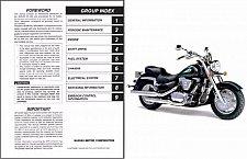 Buy 1998-2009 Suzuki Intruder 1500 ( VL1500 ) / Boulevard C90 Service Manual on a CD