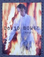 Buy David Bowie Hours New 1999 Promo Poster