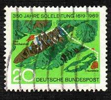 Buy German Used Scott #1009 Catalog Value $.30