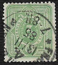 Buy German Used Scott #37 Catalog Value $1.50