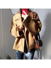 Buy women short woolen coat