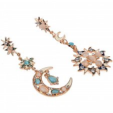 Buy Women sweet moon star earring