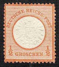 Buy German Hinged Scott #16 Catalog Value $35.00