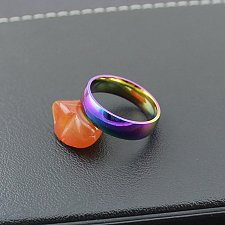 Buy fashion men ring colorful