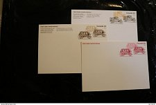 Buy Canada UX117-119 transportation Stagecoach Model T Ford stamp Post Card QE!! 1977-79
