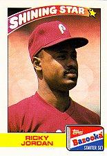 Buy Ricky Jordan #17 - Phillies 1989 Topps Bazooka Baseball Trading Card