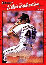 Buy Steve Bedrosian #295 - Giants 1990 Donruss Baseball Trading Card