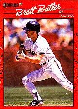 Buy Brett Butler #249 - Giants 1990 Donruss Baseball Trading Card