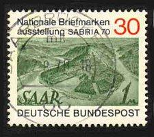 Buy German Used Scott #1017 Catalog Value $.30