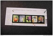 Buy Canada 2238a souvenir sheet beneficial insects lady beetle lacewing bumblebee darner