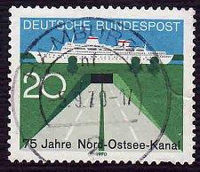 Buy German Used Scott #1021 Catalog Value $.30
