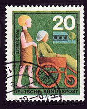Buy German Used Scott #1024 Catalog Value $.25