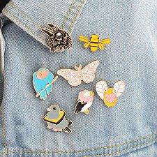 Buy 7pcs cute women brooch jewelry pins