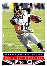 Buy Danny Amendola #124 - Patriots 2013 Score Football Trading Card