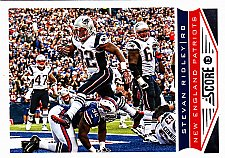 Buy Stevan Ridley #126 - Patriots 2013 Score Football Trading Card