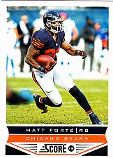 Buy Matt Forte #37 - Bears 2013 Score Football Trading Card