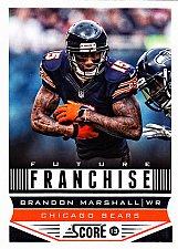 Buy Brandon Marshall #304 - Bears 2013 Score Football Trading Card