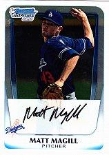 Buy Matt Magill #BCP61 - Dodgers 2011 Bowman Chrome Baseball Trading Card