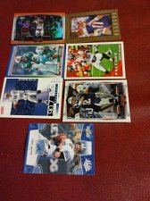 Buy lot 7 NFL football cards